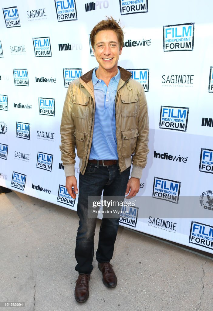 Film Independent Co-President Sean Mc Manus attends the Film Independent Film Forum at Directors Guild of America on October 21, 2012 in Los Angeles, California.
