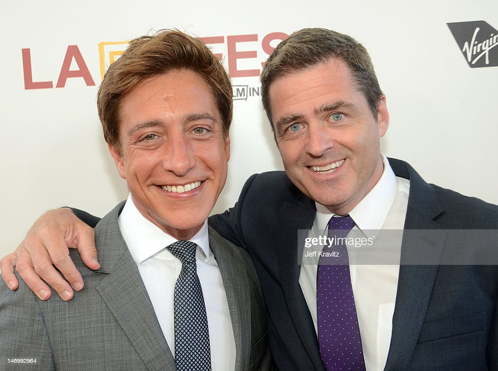 Film Independent copresident Sean McManus and Film Independent copresident Josh Welsh arrive at the closing night gala premiere of 'Magic Mike' at...