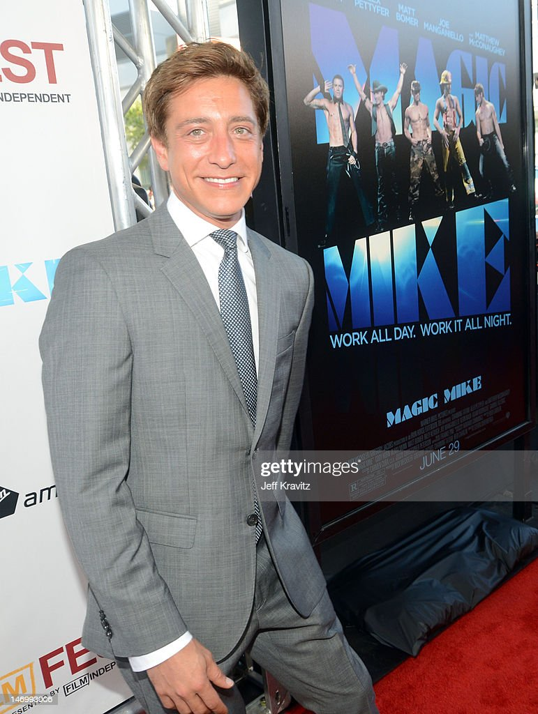 Film Independent copresident Sean McManus arrives at the closing night gala premiere of 'Magic Mike' at the 2012 Los Angeles Film Festiva held at...
