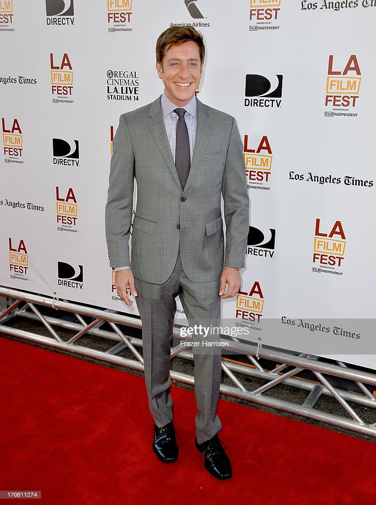 Film Independent copresident Sean McManus arrives at the premiere of Sony Pictures Classics 'I'm So Excited' during the 2013 Los Angeles Film...