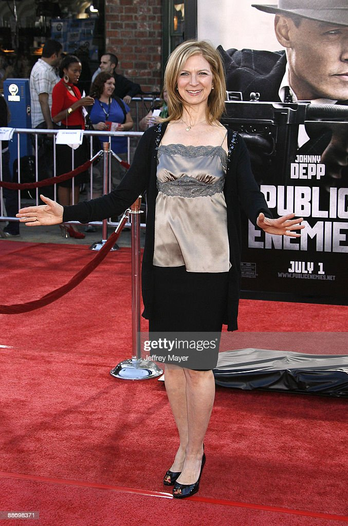 Film Independent Executive Director Dawn Hudson arrives at the 2009 Los Angeles premiere of 'Public Enemies' at the Mann Village Theatre on June 23...