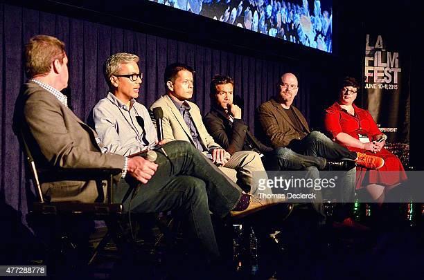 Film Independent President Josh Welsh Carlos Islam Ken Payumo David Raymond of Arise Pictures writer/producer Trey Callaway and Amanda Timpson...