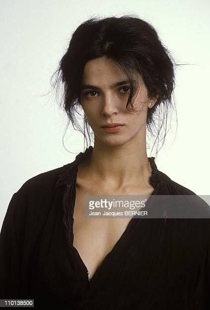 Film 'L'intruse' in France in March 1985 Laura Morante