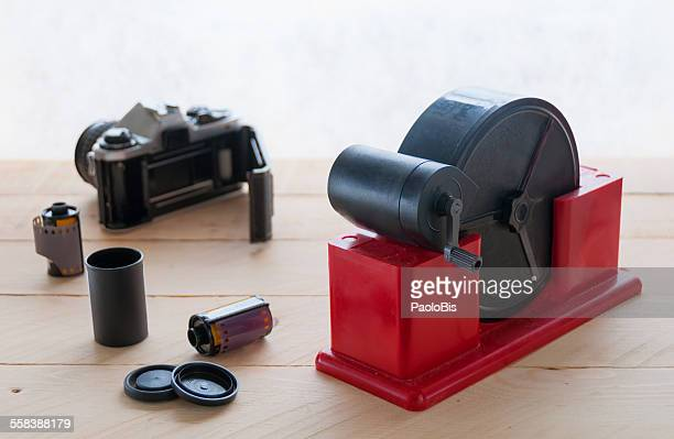 Film loader for negative 35mm