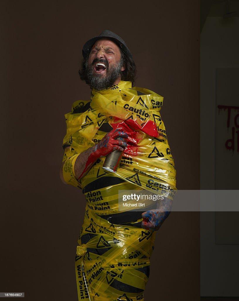 Thierry Guetta, Portrait shoot, April 21, 2013