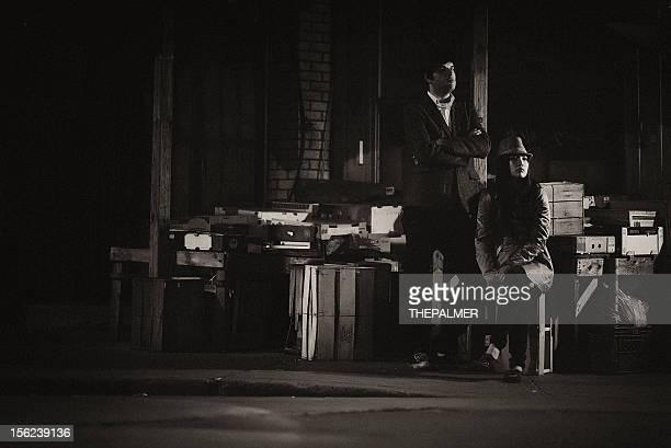 film noir カップル