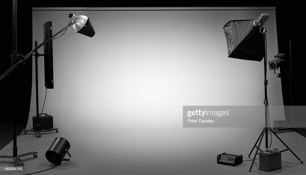 TV, film, photographic studio 3 : Stock-Foto
