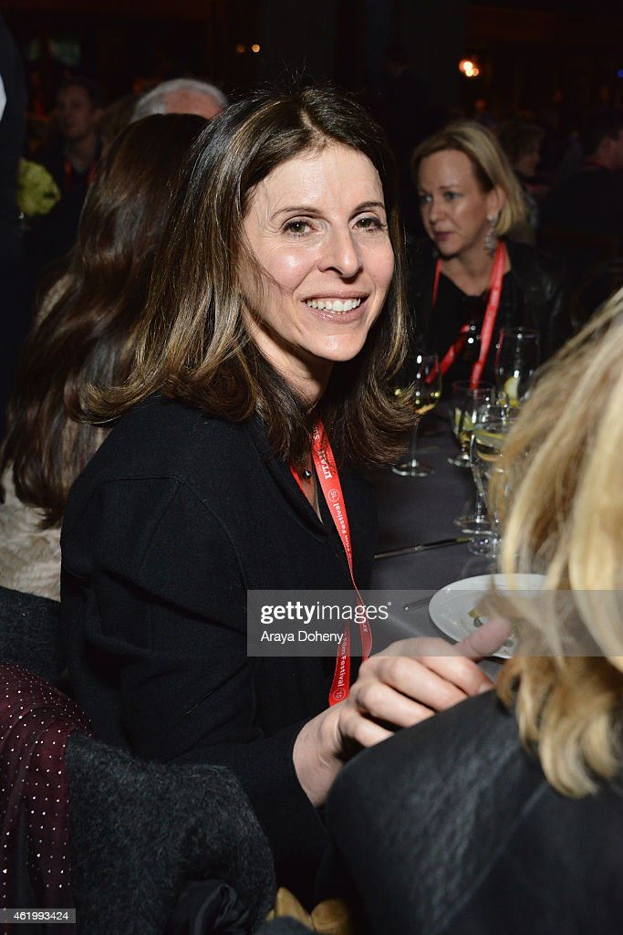 Film producer Amy Ziering attends the An Artist At The Table Dinner Program during the 2015 Sundance Film Festival on January 22 2015 in Park City...