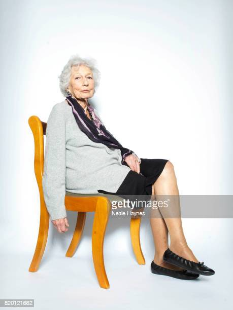 Film producer and writer Robin Dalton is photographed for the Sydney Morning Herald on February 8 2017 in London England