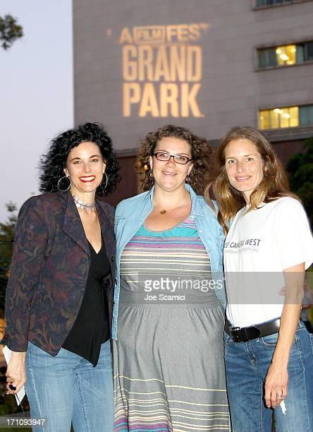 Film Producer at Los Angeles Film Festival Hebe Tabachnik Julia Diamond Programming Director at Grand Park and Tonia Barber Executive Director Dance...