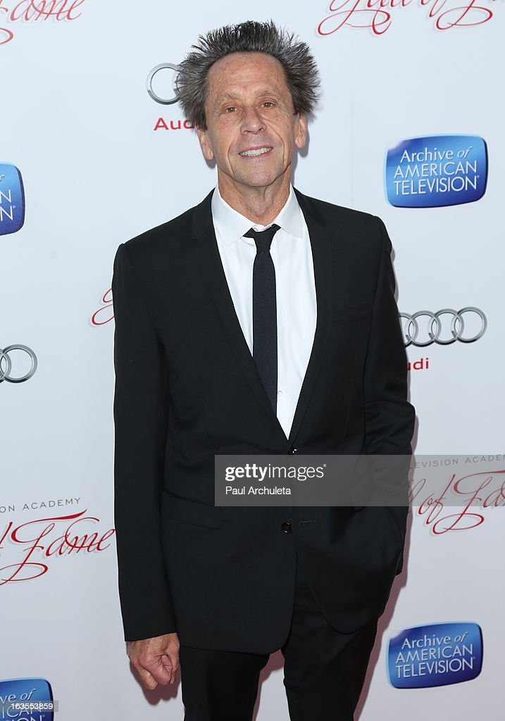 Film Producer <a gi-track='captionPersonalityLinkClicked' href=/galleries/search?phrase=Brian+Grazer&family=editorial&specificpeople=203009 ng-click='$event.stopPropagation()'>Brian Grazer</a> attends the Academy Of Television Arts & Sciences 22nd annual Hall Of Fame induction gala at The Beverly Hilton Hotel on March 11, 2013 in Beverly Hills, California.