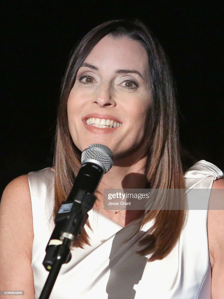 Film producer Cecilia Peck speaks onstage during 'The Keys of the Kingdom' screening during day 4 of the TCM Classic Film Festival 2016 on May 1, 2016 in Los Angeles, California. 25826_009