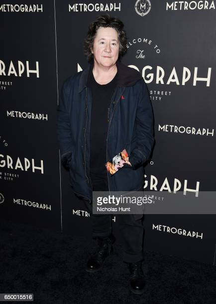 Film Producer Christine Vachon attends the Metrograph Theater 1st Year Anniversary Party at The Metrograph on March 8 2017 in New York City