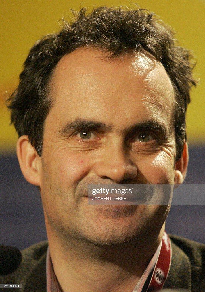 Film producer <b>Denis Carot</b> gives a press conference 11 February 2005 during ... - film-producer-denis-carot-gives-a-press-conference-11-february-2005-picture-id52180921