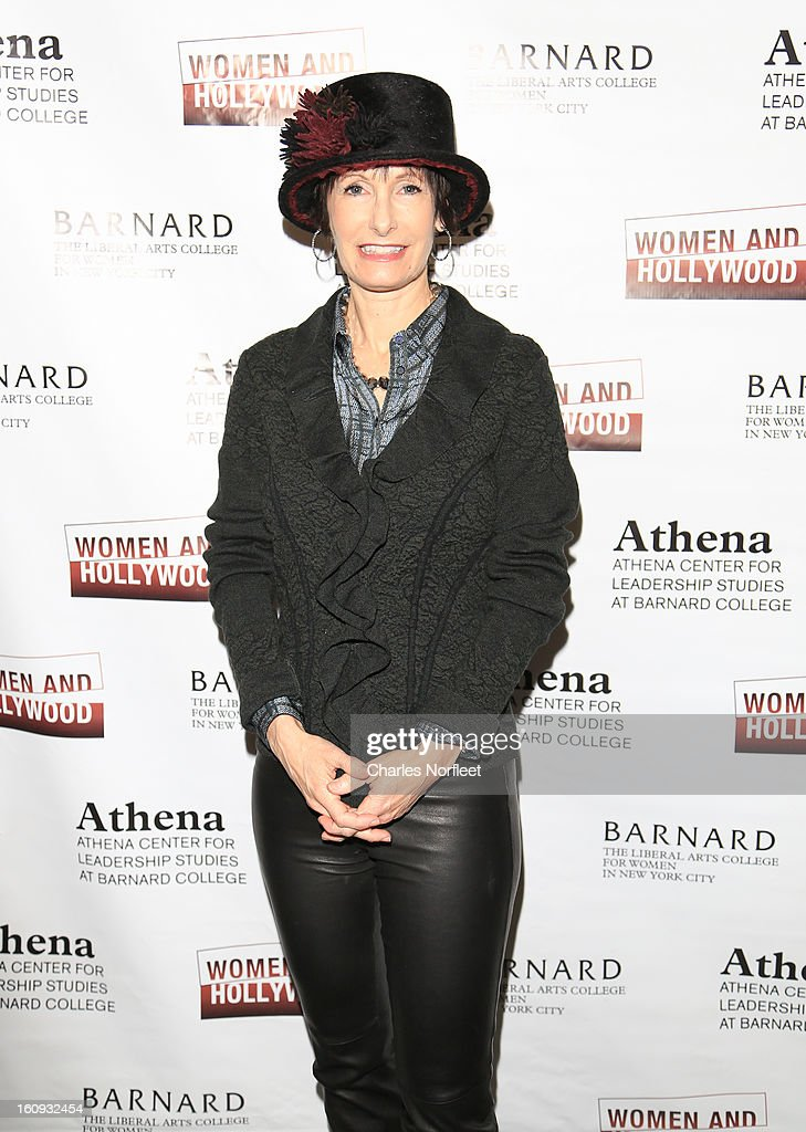 Film Producer Gale Anne Hurd attends The 2013 Athena Film Festival Opening Night Reception at The Diana Center At Barnard College on February 7, 2013 in New York City.