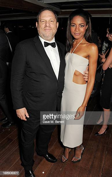 Film producer Harvey Weinstein and actress Naomie Harris attend the IFP Calvin Klein Collection Euphoria Calvin Klein celebration of Women In Film At...