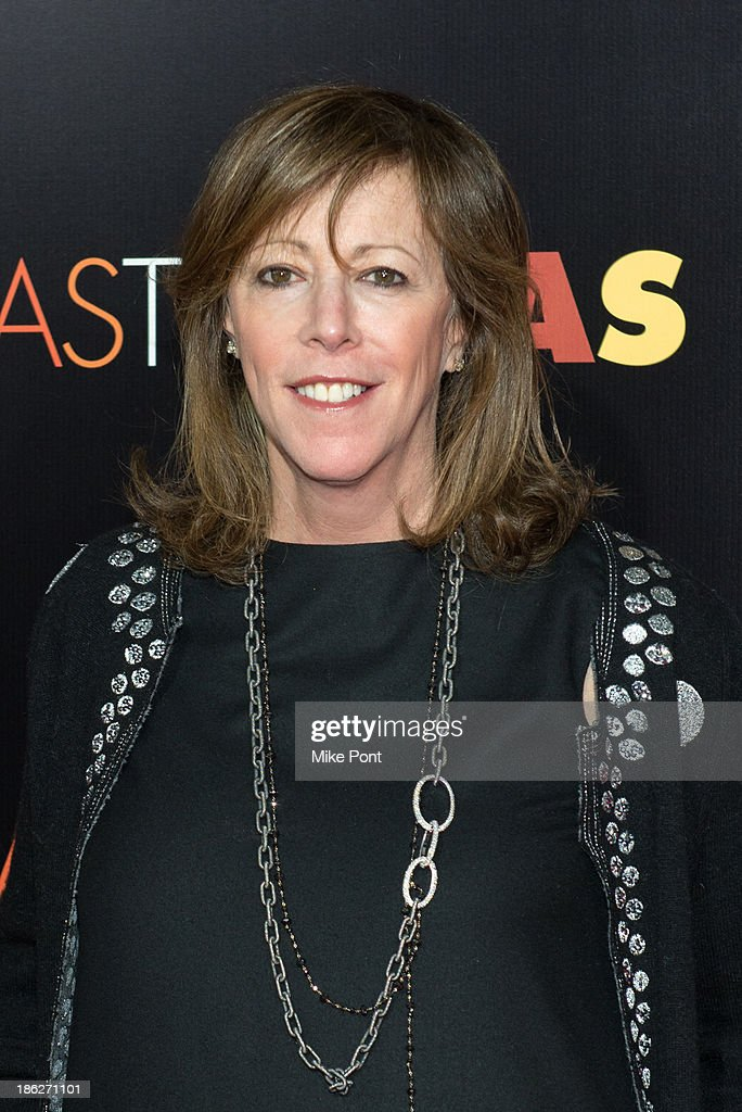 Film Producer Jane Rosenthal attends the 'Last Vegas' premiere at the Ziegfeld Theater on October 29, 2013 in New York City.