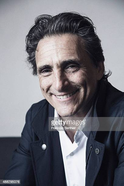 Film producer Lawrence Bender is photographed on September 9 2015 in Deauville France