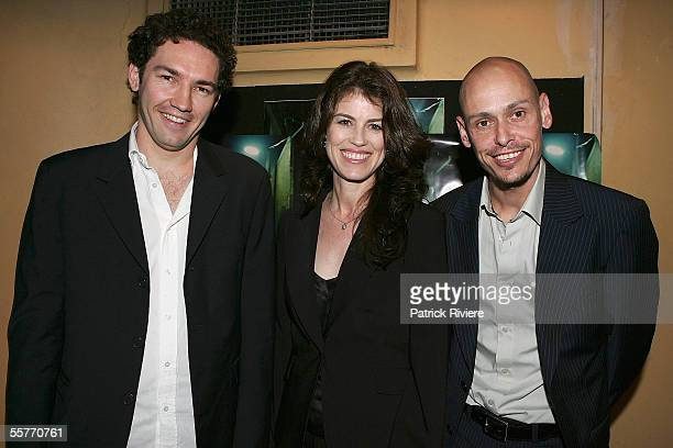 Film Producer Michele Bennett producer/editor Nash Edgerton and actor/ director/writer Scott Ryan attend the premiere of 'The Magician' at the Palace...