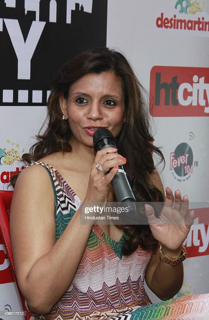 Film Producer Priti Gupta during the interview for promotion of upcoming film Waiting at HT Media office on May 27, 2016 in New Delhi, India.
