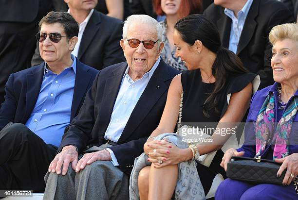 Film producer Walter Mirisch attends the MetroGoldwynMayer 90th Anniversary Celebration at TCL Chinese Theatre on January 22 2014 in Hollywood...