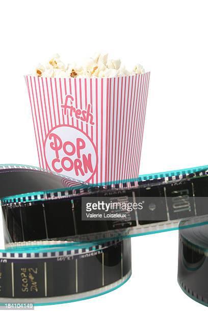 Film reel and Popcorn