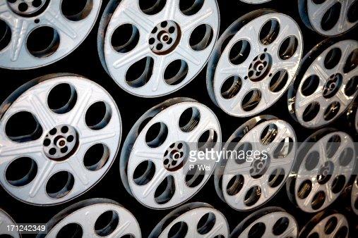 Film Reels in Hollywood