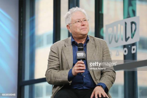 Film score composer Alan Menken visits Build to discuss the musical 'A Bronx Tale' at Build Studio on May 16 2017 in New York City