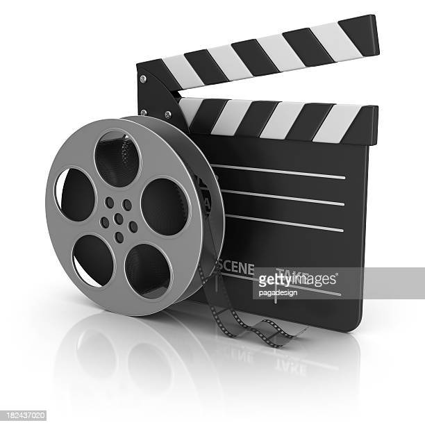 film slate and camera tape