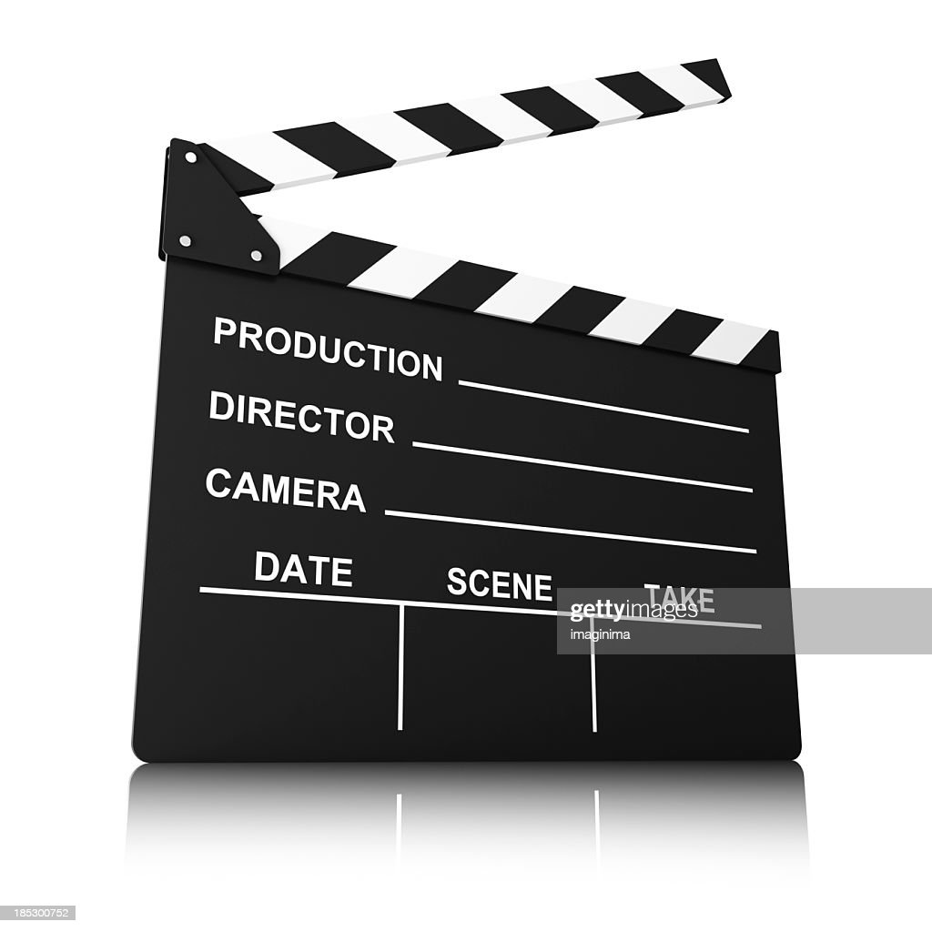 Film Slate Stock Photo | Getty Images