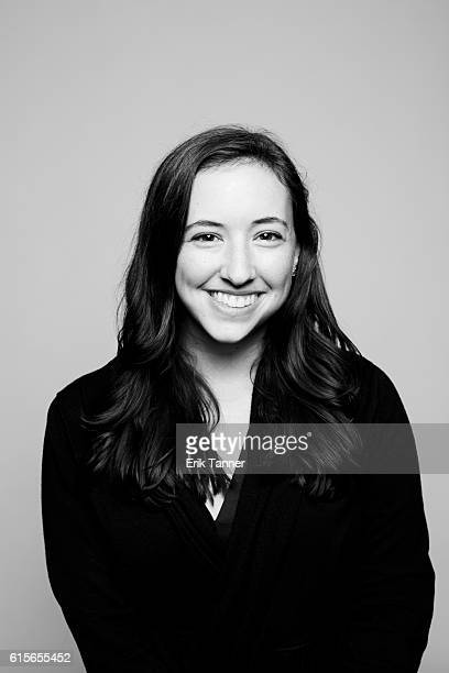 Film Society of Lincoln Center publicist Rachel Allen poses for a portrait during the 54th New York Film Festival at Lincoln Center on October 3 2016...