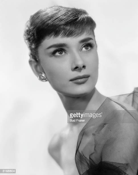 Film star Audrey Hepburn as she appeared in 'Funny Face' directed by Stanley Donen