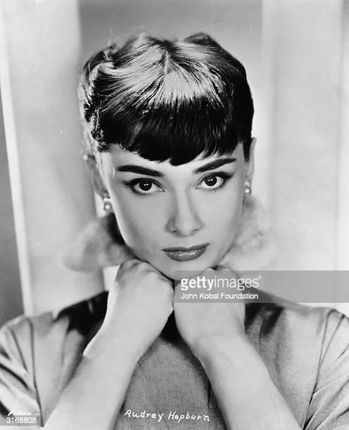 Film star Audrey Hepburn