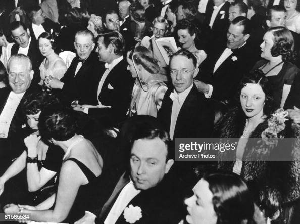 Film star Clark Gable and his wife Carole Lombard attend the Atlanta premiere of the movie 'Gone With the Wind' 15th December 1939