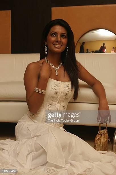 Film star Geeta Basra during her new move