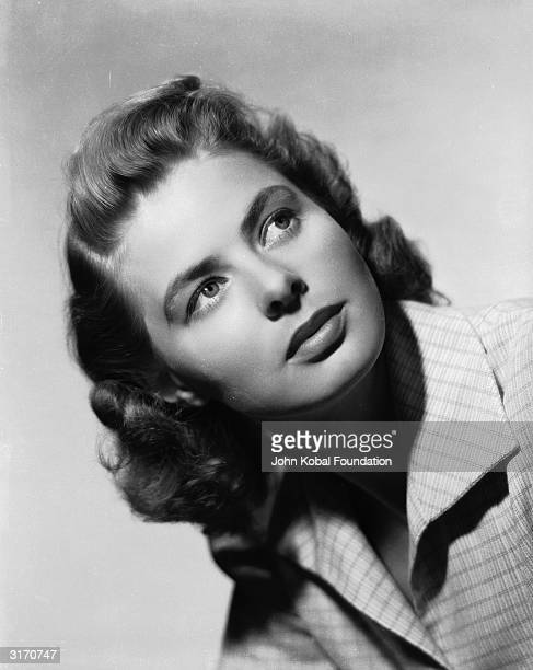Film star Ingrid Bergman