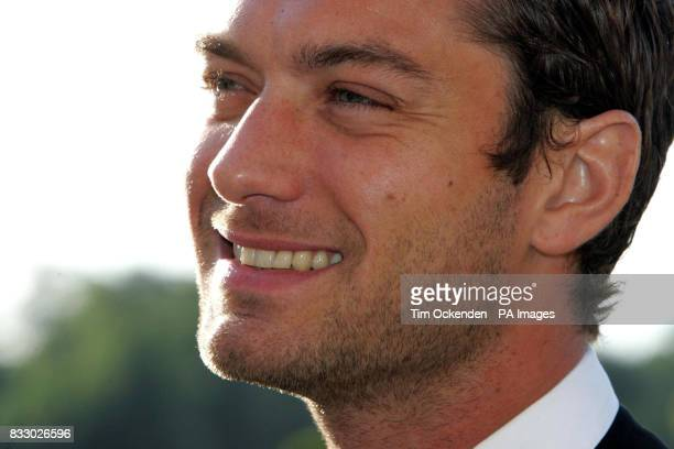 Film star Jude Law during the Make a Wish Foundation annual ball at Blenheim Palace Oxfordshire