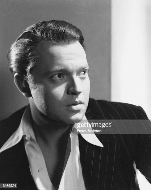 Film star Orson Welles