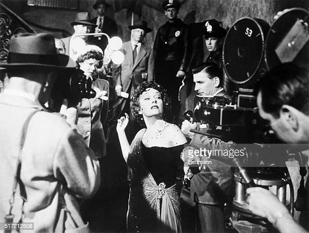 1950 film starring Gloria Swanson as faded screen star Norma Desmond with Erich von Stroheim and William Holden