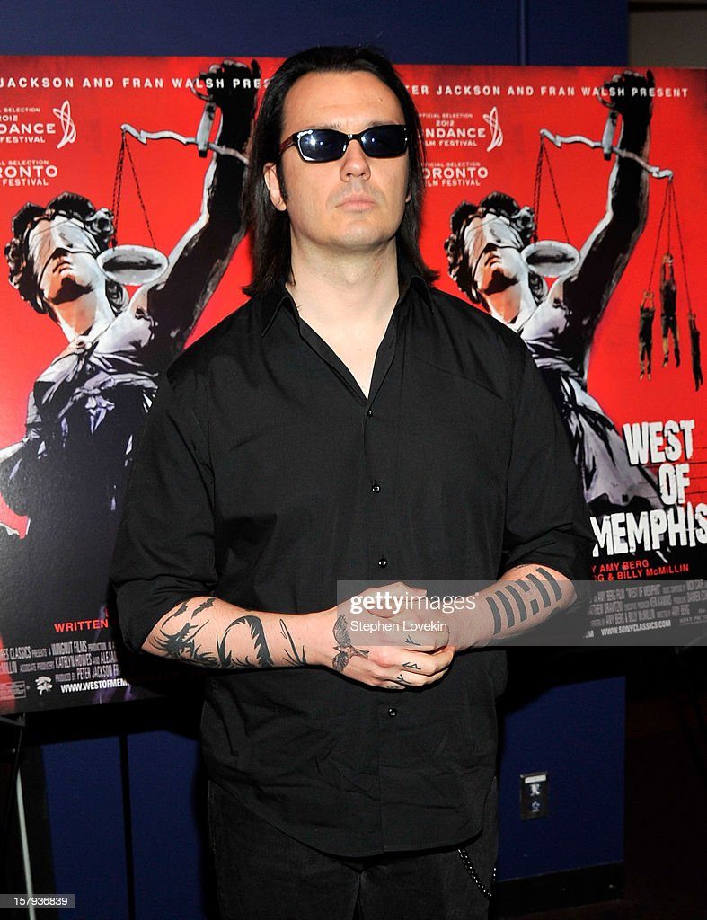 Film subject Damien Echols attends the New York premiere of 'West Of Memphis' at Florence Gould Hall on December 7, 2012 in New York City.