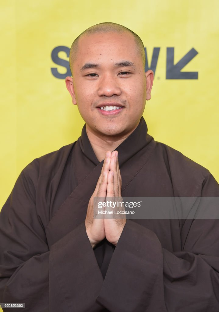 Film subject Phap Huu attends the 'Walk With Me' premiere during 2017 SXSW Conference and Festivals at the ZACH Theatre on March 12, 2017 in Austin, Texas.