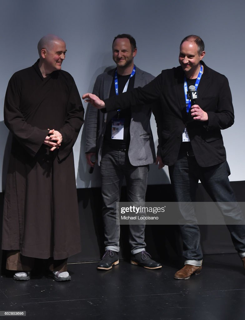 Film subject Phap Linh and Co-Directors Marc Francis and Max Pugh take part in a Q&A following the 'Walk With Me' premiere during 2017 SXSW Conference and Festivals at the ZACH Theatre on March 12, 2017 in Austin, Texas.