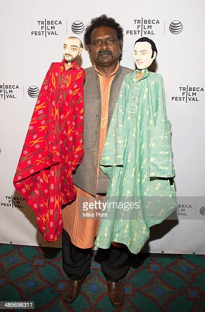 Film subject Puran Bhatt attends the screening of 'Tomorrow We Disappear' during the 2014 Tribeca Film Festival at AMC Loews Village 7 on April 19...