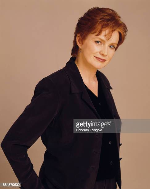 Film theatre and television actress Blair Brown poses for a portrait in February 1997 in New York City New York