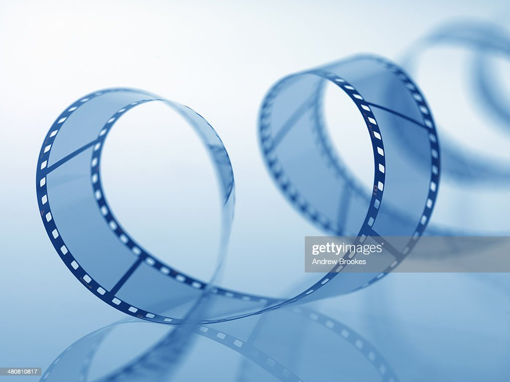 Film Unspooling : Stock Photo