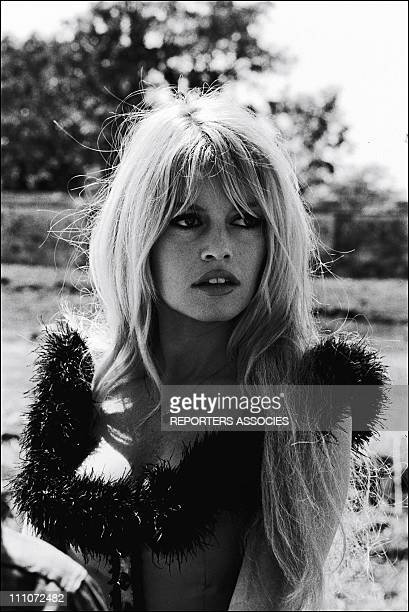 Film 'Viva Maria' Of Louis Malle Brigitte Bardot In Mexico In 1965