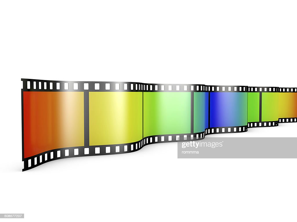 film with gradient : Stock Photo