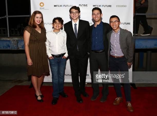 Film2Future students at the Film2Future Year 2 Awards Ceremony on November 16 2017 in Los Angeles California