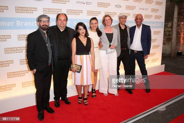 Filmcrew of the Film 'Teheran Tabu' attend Industry Meeting Of The 'Film and Media Foundation North RhineWestphalia' at Wolkenburg on May 31 2017 in...