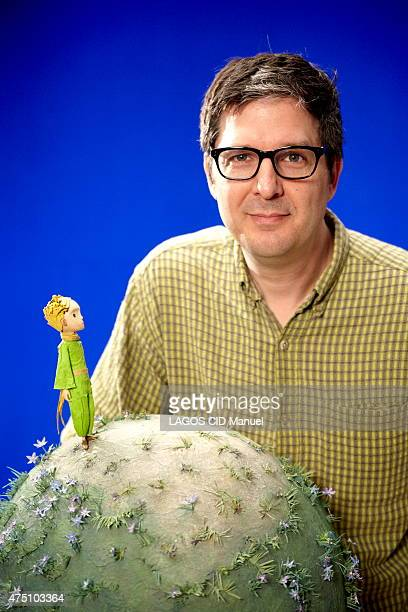 Filming of the animated film Le Petit Prince the film director Mark Osborne from the On Animation Studios is photographed for Paris Match in Montreal...